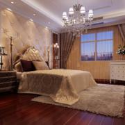 现代欧式别墅型精美的卧室装修效果图