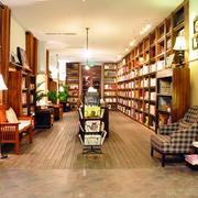 简约朴素的书店