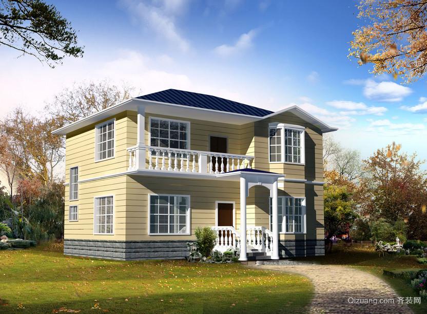 欧式农村小别墅外观设计效果图实例欣赏