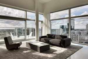 101平米极致简约的两室一厅装修效果图