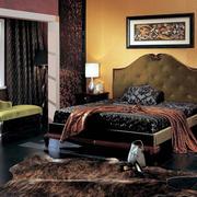 超有复古气质的后现代卧室