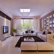 欧式小户型家装客厅室内装修效果图鉴赏