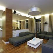 两室一厅简约客厅展示