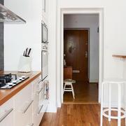 小户型干净厨房设计