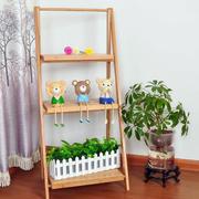 单身公寓简约实木花架装修效果图