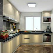 小户型L字型厨房欣赏