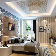 现代欧式风格大户型精美的卧室装修效果图