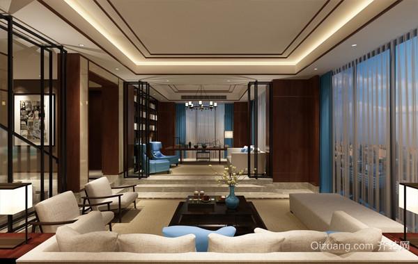 2016小别墅现代中式设计效果图鉴赏