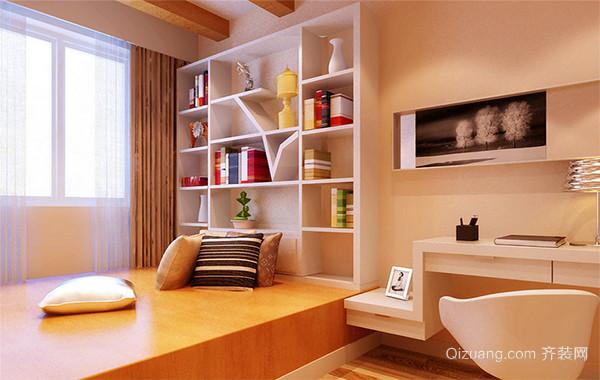现代日式风格小户型卧室榻榻米装修效果图