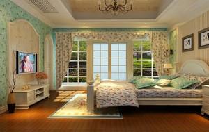 90平米碎花小卧室欣赏