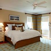 90平米舒适卧室展示