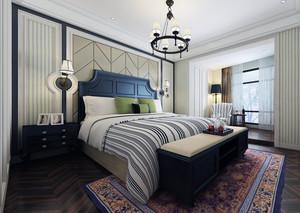 2016小户型卧室软包背景墙装修效果图实例