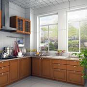 欧式风格大户型家庭厨房装修效果图实例