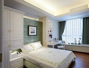90平米住宅田园风格卧室装修效果图