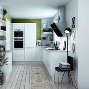 时尚狭小的厨房图片