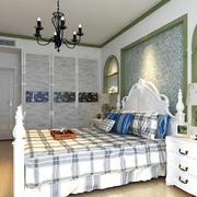 清新90平米小卧室图片