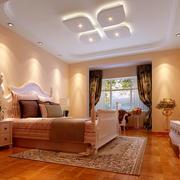 90平米卧室别致吊顶展示