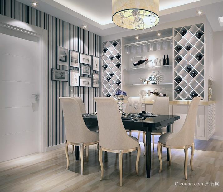 现代大户型欧式风格室内酒柜装修效果图鉴赏