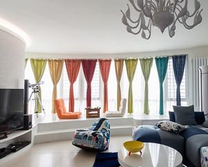 新鲜有活力的60平米现代小户型家装案例