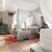90平米时尚卧室展示