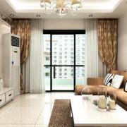 现代家居窗帘图片