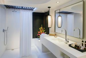 现代欧式大户型卫生间装修效果图实例