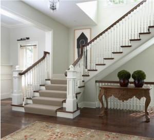 现代室内大户型楼梯装修效果图实例欣赏