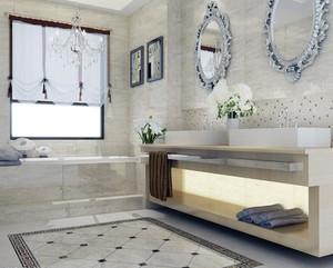 欧式马可波罗瓷砖卫生间背景墙装修效果图