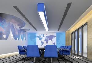 2016摩登时尚的大型会议室装修效果图