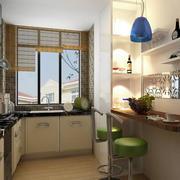 舒适温馨小厨房欣赏