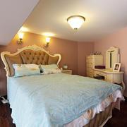 家庭优雅型卧室图片