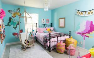 独特韵味的精致两居室儿童房间设计图