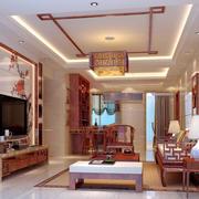 新中式风格的吊顶图片