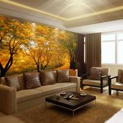 秋意萧萧的沙发背景壁纸