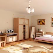 浅色调温馨卧室壁纸