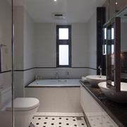 房屋现代卫生间欣赏
