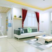 客厅舒适简约设计