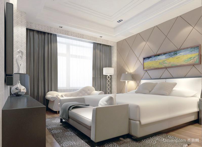 唯美独特的欧式小户型卧室装修效果图