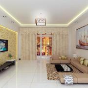 温馨舒适的客厅欣赏