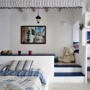 精致的别墅型地中海风格儿童房装修效果图