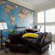 90平米卧室床头背景展示