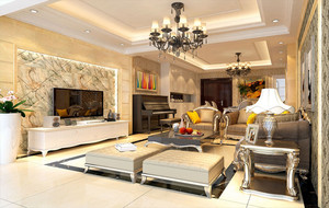 精致优雅的客厅图片