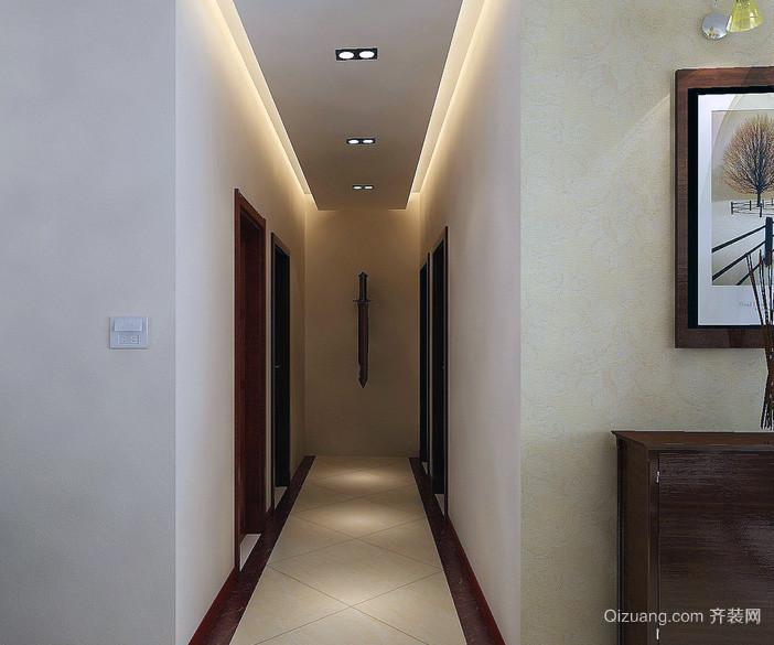 精美独特的室内现代走廊吊顶装修效果图