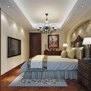 2016精美的欧式风格别墅卧室装修效果图