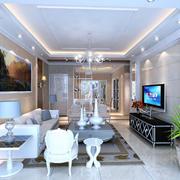 客厅简欧装饰设计