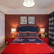 90平米靓丽卧室欣赏