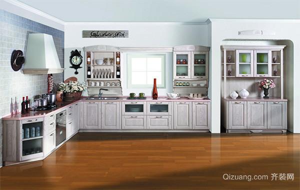 北欧风格自建别墅厨房吊顶装修效果图实例