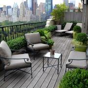 空气清新的阳台图片