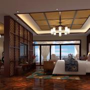 酒店东南亚卧室欣赏