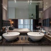 房屋主卧室卫生间洗手台